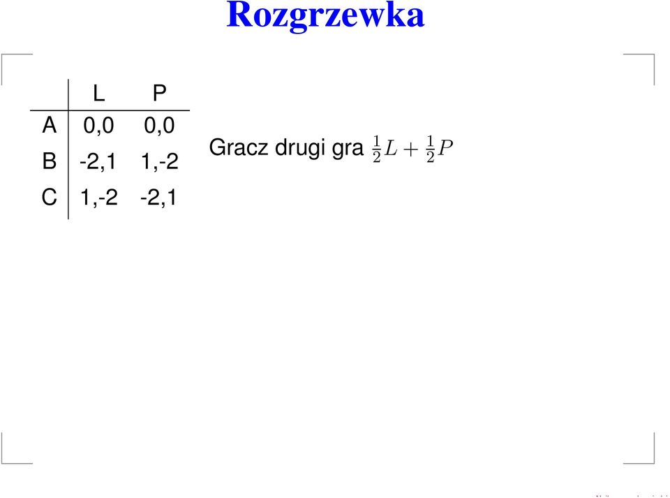 1,-2 Gracz drug