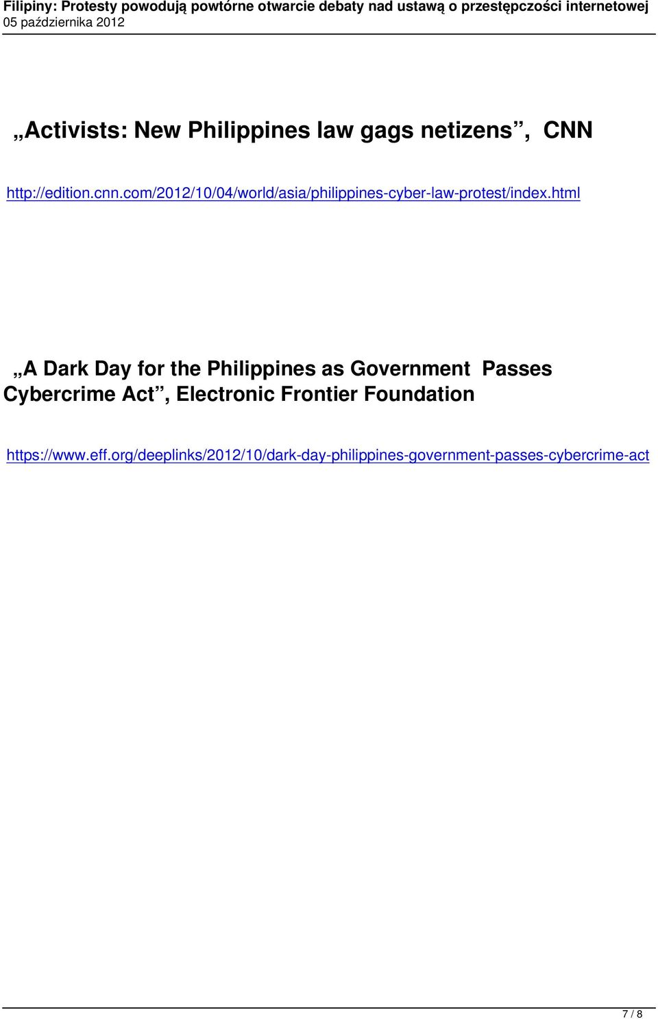html A Dark Day for the Philippines as Government Passes Cybercrime Act,
