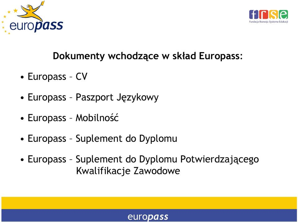 Europass Suplement do Dyplomu Europass Suplement