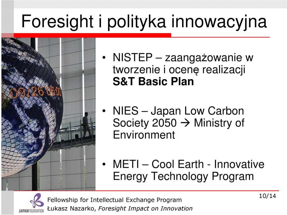 Japan Low Carbon Society 2050 Ministry of Environment