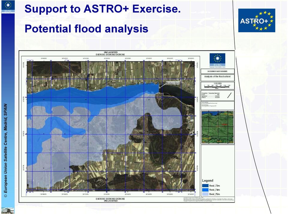 Potential flood analysis