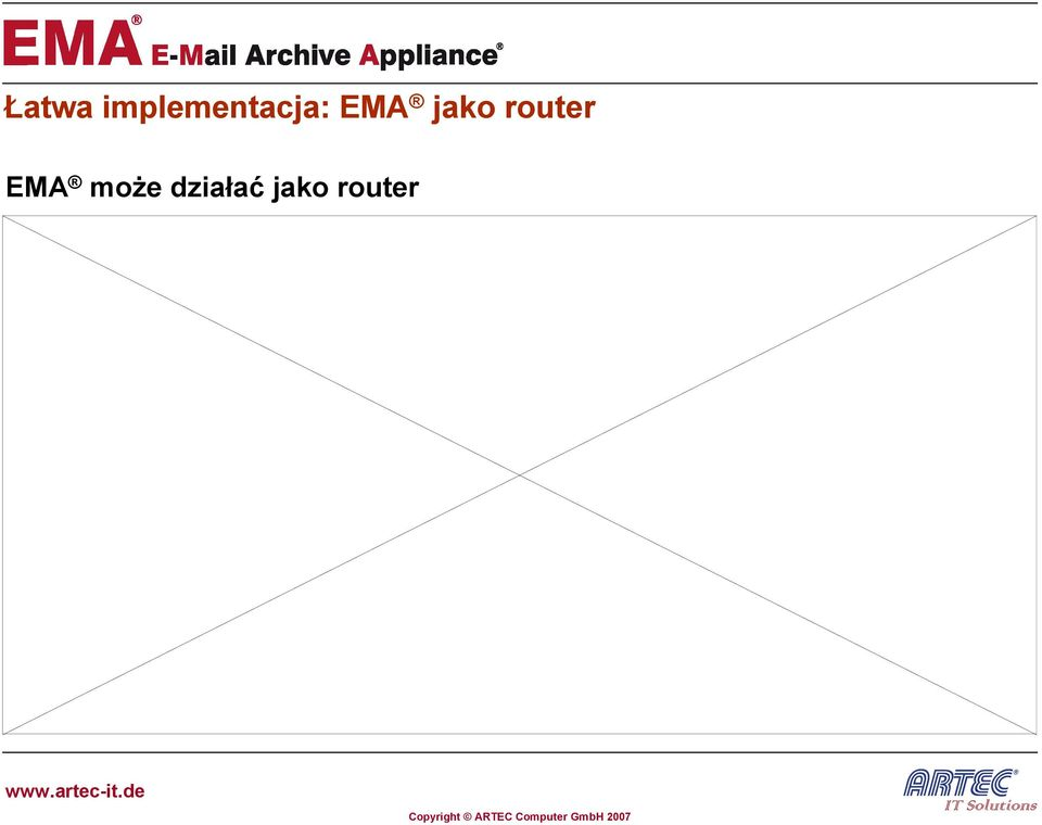 EMA jako router