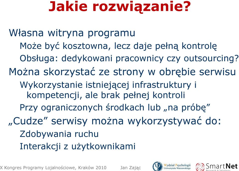 pracownicy czy outsourcing?