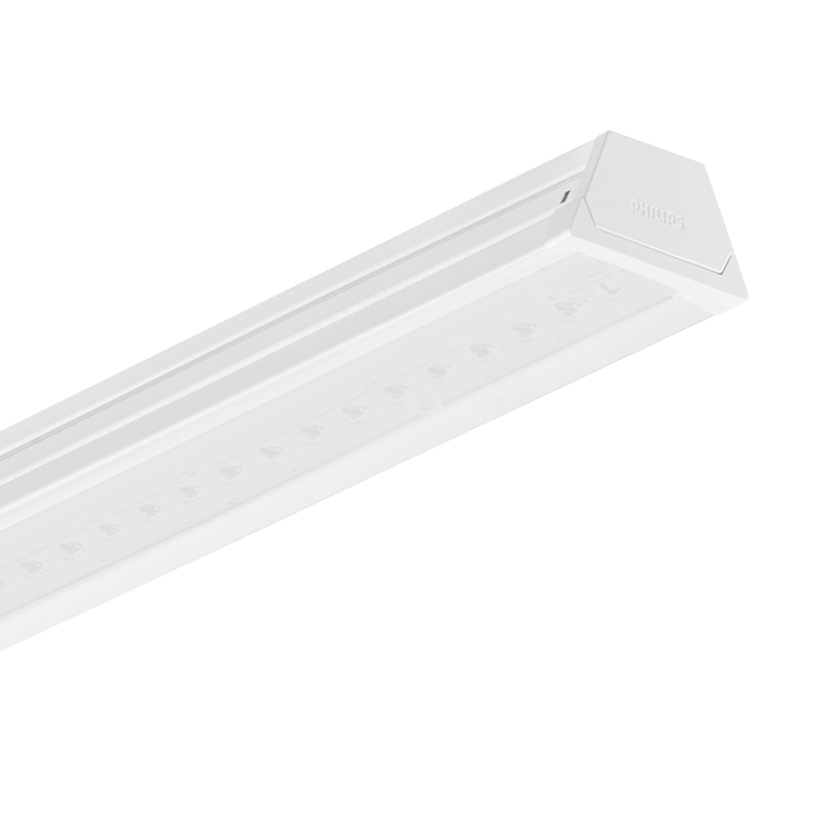 Versions CoreLine trunking LL120X/LL121X luminaire, single lumen version, opal CoreLine trunking LL120X/LL121X luminaire, double lumen version, opal Rysunki techniczne Product LL121X LED45S/840 PSU