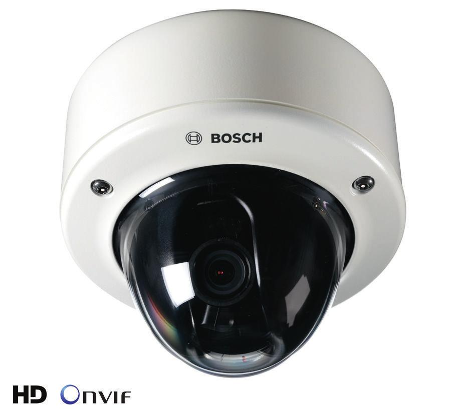 Wideo FLEXIDOME HD 1080p VR FLEXIDOME HD 1080p VR www.boschsecurity.