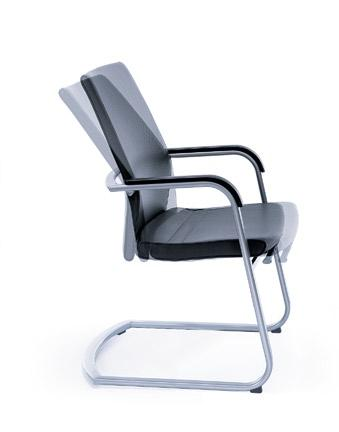 recline the chair and adjust the position