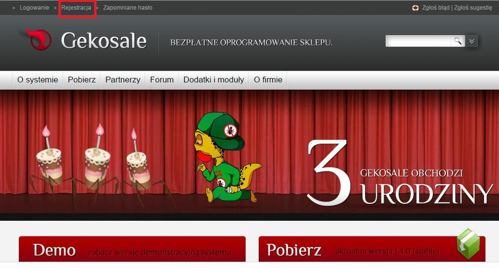 Profil numer 9 Urls / Domains PR Anchor/URL Trust Rank Backlinks http://www.gekosale.
