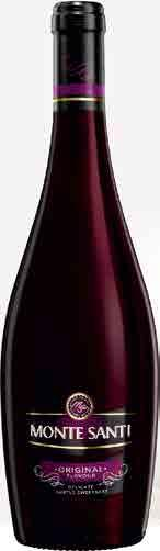 2017 WIN0 AROMATYZOWANE 2,99 Z VAT 3,68 MONTE SANTI WILD STRAWBERRY ORIGINAL BLACKBERRY C/SŁ 11% VOL.