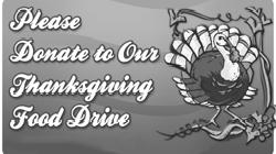 Thanksgiving Food Drive St. Hedwig Confirmation students will be conducting a Thanksgiving Food drive of non-perishable items on November 19th & 20th before each Mass.