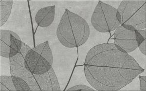 INS Light Grey Leaves A 25x40