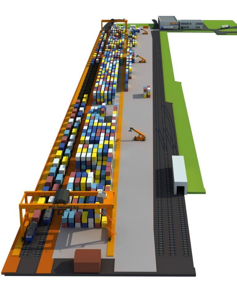 PCC GLIWICE TERMINAL annual handling capacity of terminal: 150 000