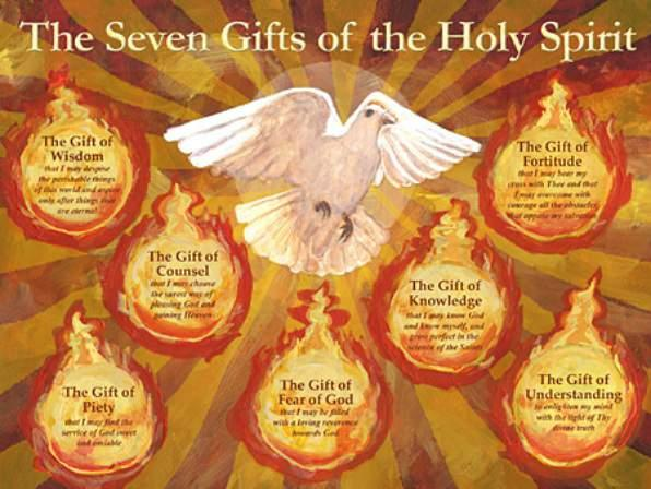 May 24th, 2015: Pentecost Sunday Page 3 POWER OF THE HOLY SPIRIT Pentecost, the fruit of Easter, compliments and serve the Paschal Mystery: the Passion, Resurrection and Ascension of Christ.