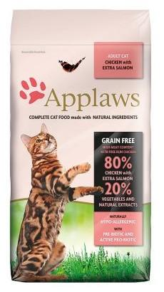 nazwa: Applaws Cat Adult Chicken & Salmon 7,5kg marka: Applaws cena: 139.