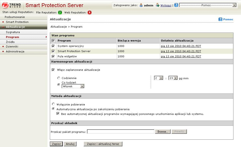Trend Micro Smart Protection Server dla OfficeScan 10.