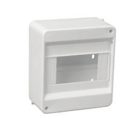 48 Housing and distributing boards, distribution box Obudowy typu S Housing, S-type IP30 Norma / norm: PN-EN 62208 Obudowa S-2 Housing S-2 Obudowa S-3 Housing S-3 69mm.206.205.