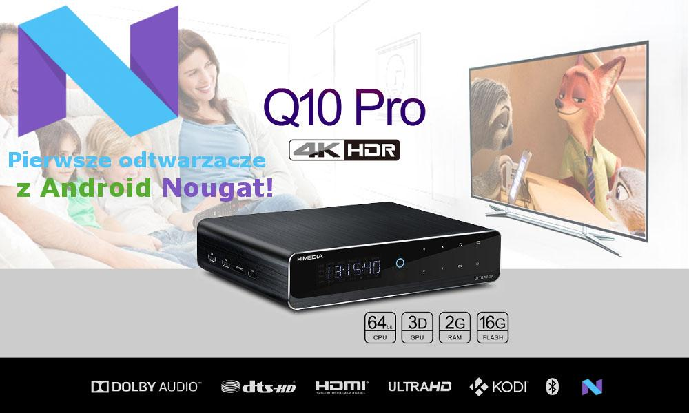 265, CPU Quad-core HiSilicon Hi3798C V200, Quad-core GPU Mali-720 GPU, 2 GB RAM, 16 GB FLASH. KODI 17.1 z dekodowaniem hardwarowym wideo i 7.1 HD-audio, 2x USB2.0, 2x USB3.