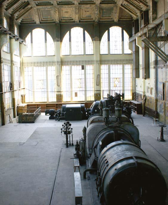 The power plant operating within the factory complex was once one of the most interesting examples of industrial architecture in Poland.