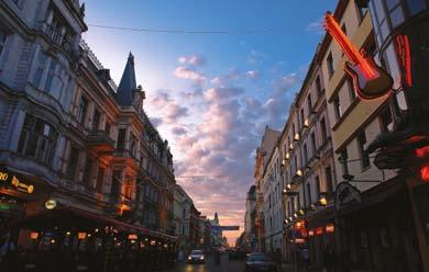 Piotrkowska is the heart of the city, its most exquisite and significant street, where the life of Łódź has flown for almost two hundred years.