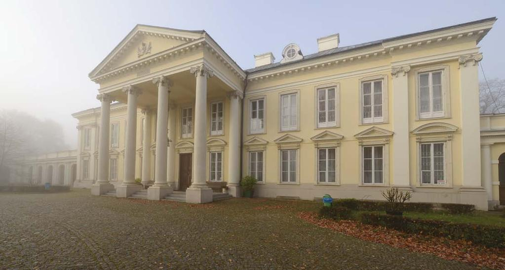 68 69 Locations Łódź region Lokacje REGION ŁÓDZKI Region Walewice Walewice This Classicist palace built in 1783 owes its today s appearance to the reconstruction which took place in the middle of the