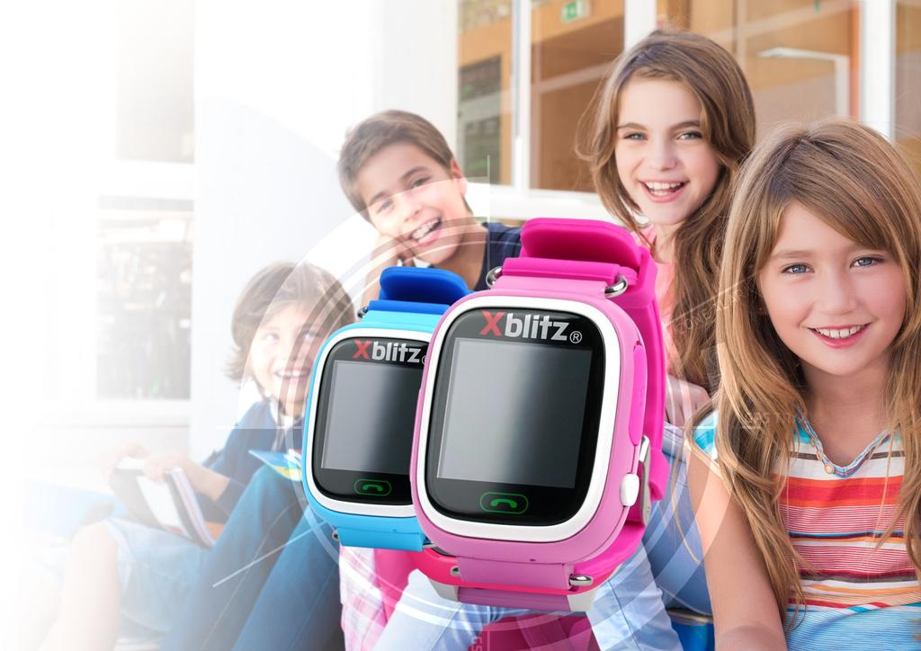 [XBLITZ KIDS WATCH GPS] v.