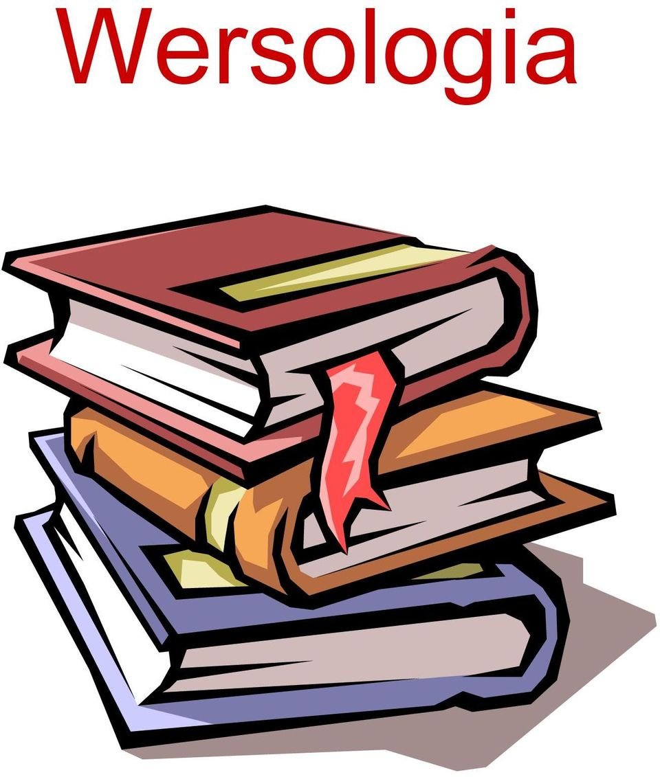 Co To Jest Wersologia Pdf Free Download